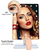 Qivange Makeup Vanity Mirror, Adjustable 20pcs LED