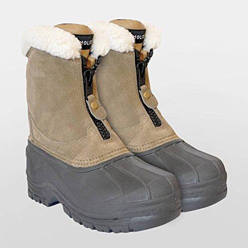 Saddle Craft Bottes en polaire doublée Zip Yard–Adulte et enfant–toutes les tailles [Enfant C13]