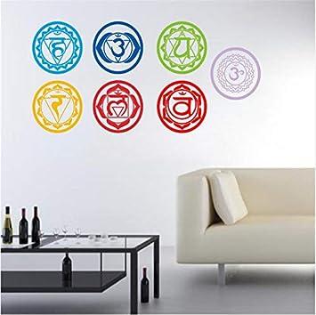 Jushuyin 19X19 Cm 7 Unids/Set Pegatinas De Pared De Vinilo Mandala ...