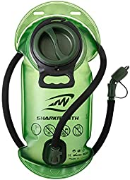 SHARKMOUTH Hydration Bladder, 2 Liter 70 oz Leak Proof Water Reservoir, BPA Free Hydration Pack Replacement fo