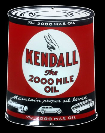 Kendall Sign Collectibles