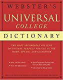 Webster's Universal College Dictionary, RH Disney Staff, 0375425675