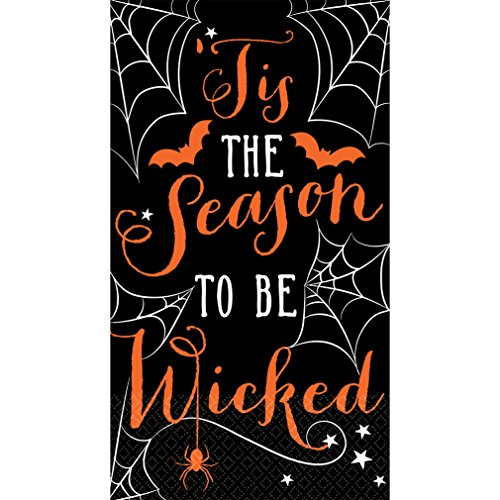 The Season To Be Wicked Guest Towel Napkins (16 (Halloween Guest Towels)