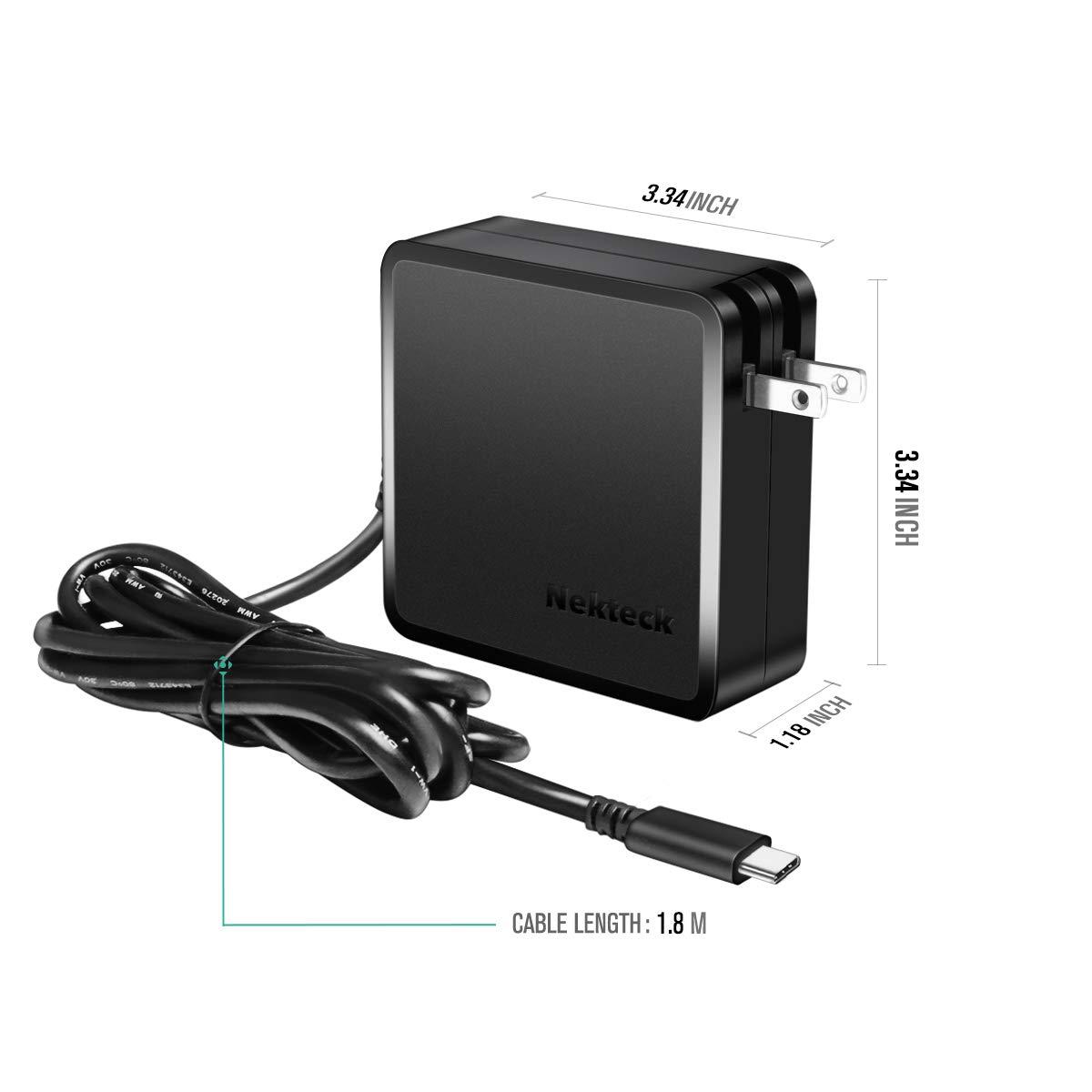 Amazon.com: USB tipo C cargador de coche, nekteck Dual Quick ...