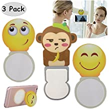 Magic Sticker, Stick Phone to Anywhere with Nano Suction Pad, Reusable Multi-Function Anti-Gravity Universal Smartphone Holder (group 1)