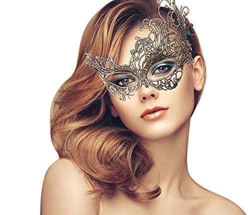 Exquisite High-end Lace Masquerade Mask (One Eye Masquerade Mask)