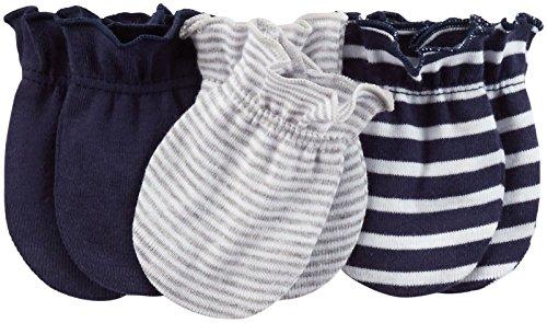 Carter's Baby Boys' Mittens (Baby) - Navy - 0-3M