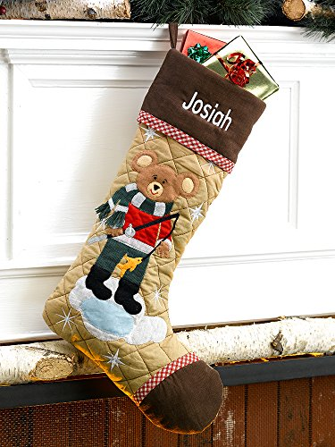 Christmas Stocking Cabin Series Bear