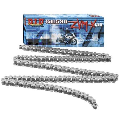 DID Cadena 525 ZVMX, 110 eslabones (X de anillo), abierto con remachadora Candado Daido Kogyo Co. LTD. 525ZVMXX110ZB Z12-2646