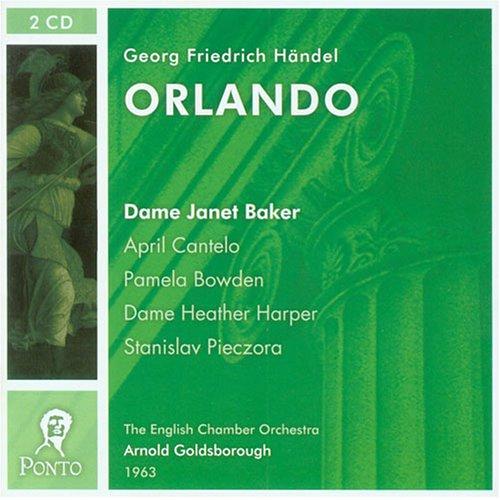 Handel - Orlando / Baker, Cantelo, Bowden, Harper, Pieczora, ECO, Goldsborough (1963)