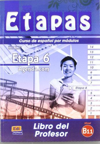 Etapas Level 6 Agenda.com - Libro del Profesor + CD
