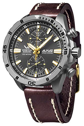 Vostok europe almaz 6S11-320H521 Mens Japanese-Quartz Watch