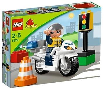 Lego Duploville 5679 Police Bike Amazoncouk Toys Games