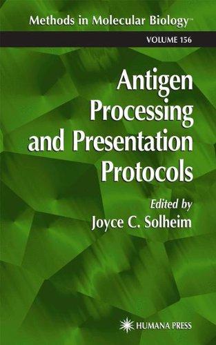 Antigen Processing and Presentation Protocols (Methods in Molecular Biology)