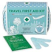 Mini Erste Hilfe Set – 84-tlg. für Unterwegs, Reise, Wandern, Zuhause, Outdoor, in wasserfestem Etui, leichte und…