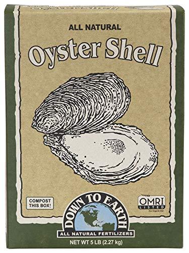 Down to Earth Organic White Oyster Shell OMRI, 5 lb