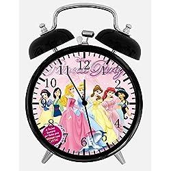 New Disney Princesses Alarm Desk Clock 3.75 Room Decor Y91 Will Be a Nice Gift
