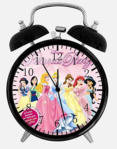 New Disney Princesses Alarm Desk Clock 3.75