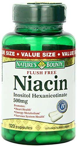Cheap Nature's Bounty Flush Free Niacin 500 Mg, 360-Count Pack (xm13b9) Nature's-uj