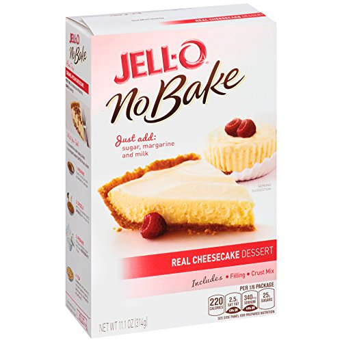 JELL-O No Bake Cheesecake Dessert (11.1 oz Box) ()