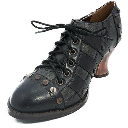 Women's Hades Jade Low Heel Black 8