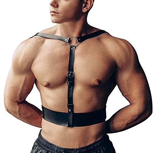 Risareyi Cinturón de arnés Ajustable para Hombres Cinturón de ...