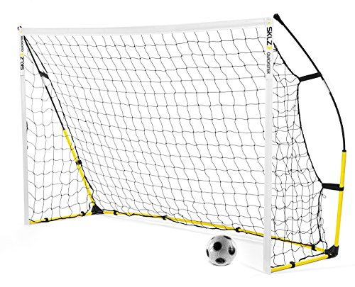 SKLZ Quickster Soccer Goal- Quick Set-Up, Ultra Portable Soccer Goal (8x5 Foot)