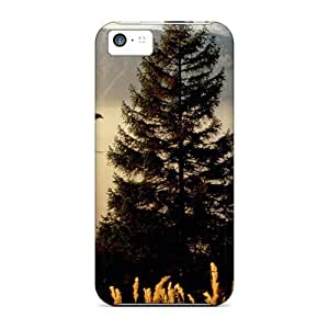 GtH68WvBN Cases Covers, Fashionable Iphone 5c Cases - Morning On Woods In Awitzerl