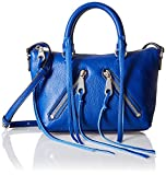 Rebecca Minkoff Micro Moto Satchel Cross Body, Cobalt, One Size