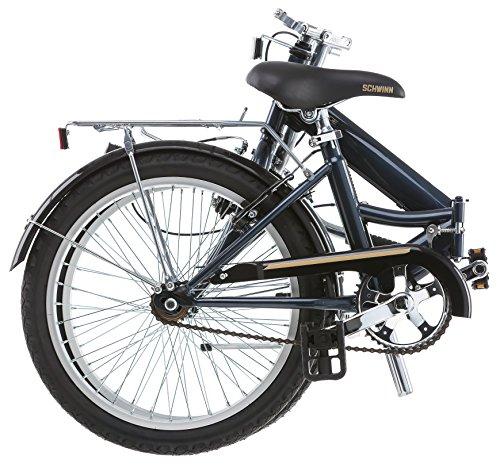 Schwinn 14 Hinge Folding Bike, 20-Inch/Medium, Grey by Schwinn (Image #3)