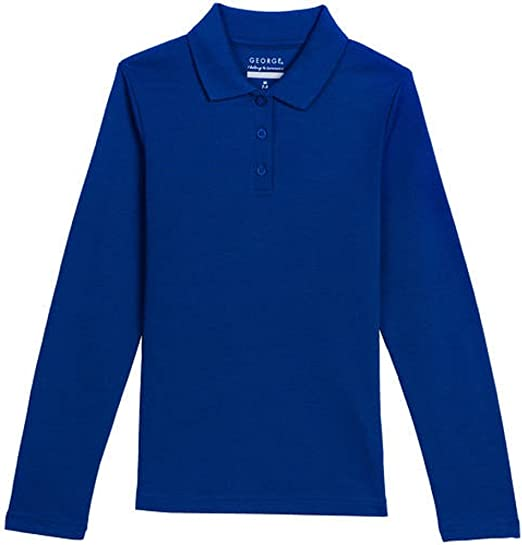 George Girls School Uniforms Short Sleeve Polo Shirt