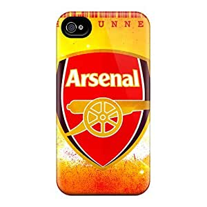 Shockproof Hard Cell-phone Case For Iphone 4/4s (lYa19438vemX) Customized Lifelike Arsenal Series