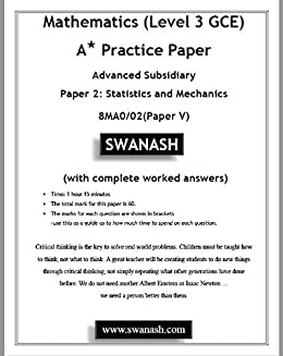 Amazon com: Mathematics (Level 3 GCE) A Star Practice Paper with