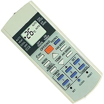 amazon com replacement panasonic air conditioner remote control rh amazon com panasonic inverter air conditioner remote control not working panasonic inverter air conditioner remote control battery change