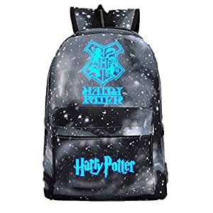Enter the satchel blue sky at night luminous printed starry sky outdoor men's backpack