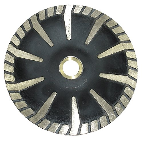Toolocity 5TCB0050 5-Inch Diamond Contour Blade for Granite Continuous Rim
