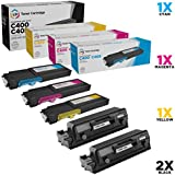 LD Compatible Toner Cartridge Replacements for Xerox Versalink C400 & Versalink C405 Extra High Yield (2 Black, 1 Cyan, 1 Magenta, 1 Yellow, 5-Pack)