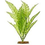 Imagitarium Bright Green Fern Silk Aquarium Plant, Medium