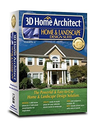 Amazon.com: 3D Home Architect Home & Landscape Design Suite V8 ...