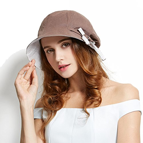Afala (Brown Cloche Hat)