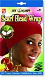 Product review for Beauty Town Scarf Head Wrap - Coconut Oil Treated - Red