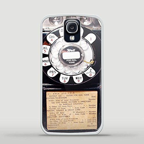 Vintage Payphone Design Gno for Samsung Galaxy and Iphone Case (Samsung S4 white)