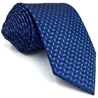 S&W SHLAX&WING Corbatas Para Hombre for Suit Para Hombre Seda ...