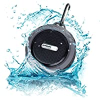 Crazzie Audio Bluetooth Waterproof Portable Speaker Compatible with Bluetooth Enabled Devices