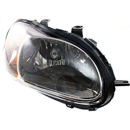 Diften 114-A1021-X01 - 01-02 Sebring Stratus Coupe Headlight Headlamp Lamp RH Right Passenger Side NEW
