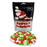 Santa's Surprise Stocking Stuffer Candy (Christmas Jelly Beans - 8.3oz) 1/2 LB - Santa Candy - Candy Gag Gift - Christmas Candy - White Elephant Gift