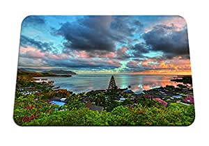"""sunrise over kaneohe bay hawaii - Gaming Mouse Pad - Mouse Pad - 10.24""""x8.27"""" inches"""