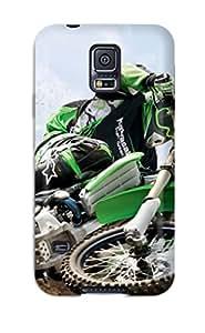 morgan oathout's Shop 8484816K99036710 Hot Snap-on Kawasaki Motocross Hard Cover Case/ Protective Case For Galaxy S5