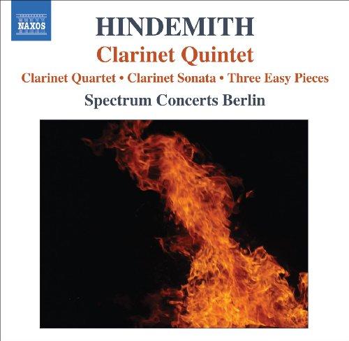 Hindemith, P.: Quartet for Clarinet and Piano Trio / Clarinet Sonata / 3 Leichte Stucke / Clarinet Quintet