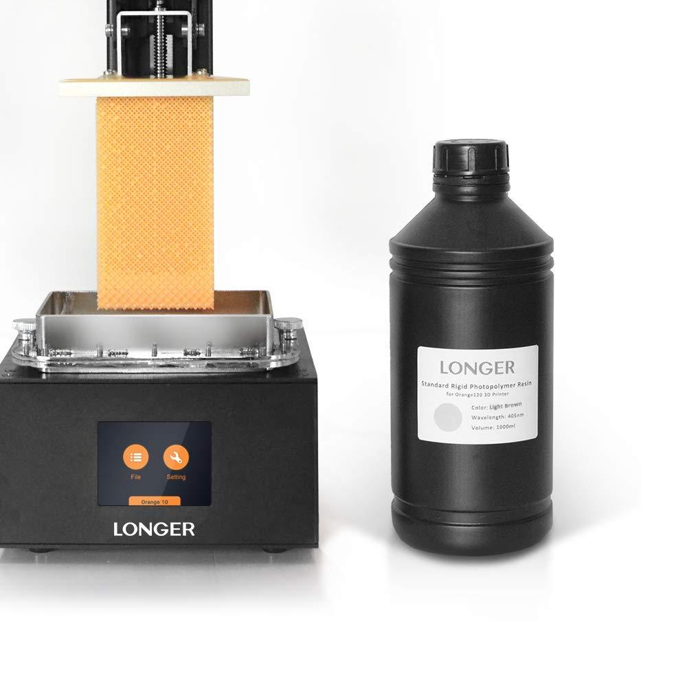Amazon.com: Resina para impresora 3D más larga de resina LCD ...